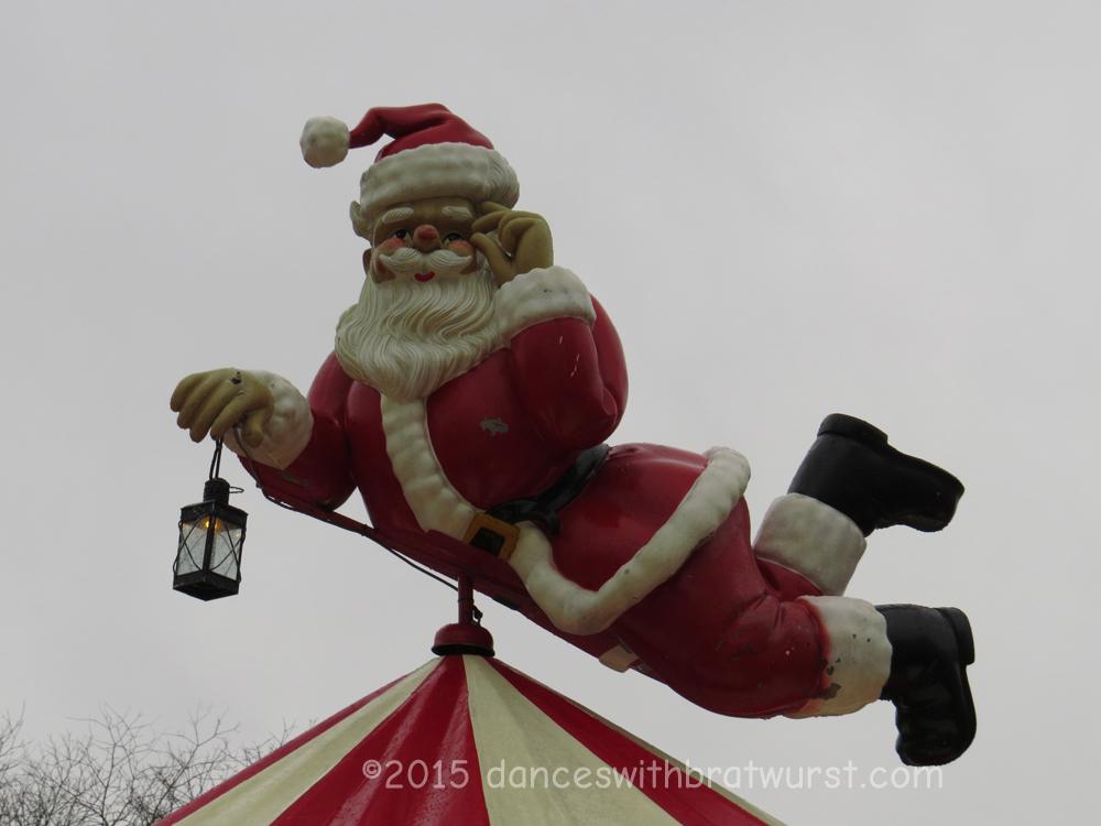 Santa on a Carousel...