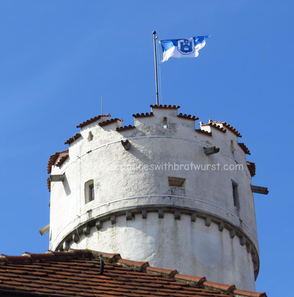Mehlsack, with flag of Ravensburg