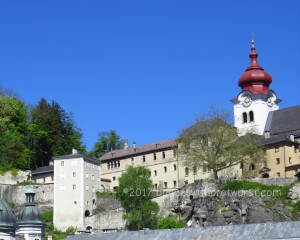 Nonnberb Abbey, from the bus