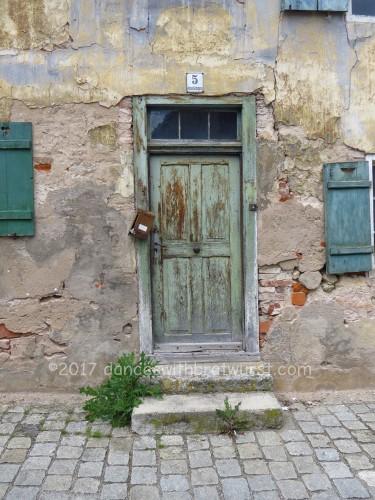 Door that matches above window