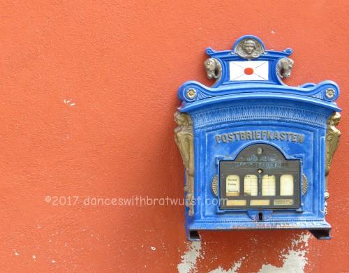 Briefkasten (post box)