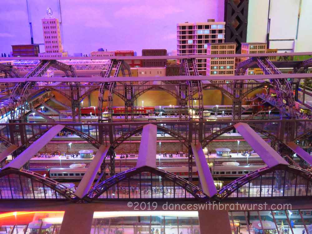 Model of Hamburg Hbf